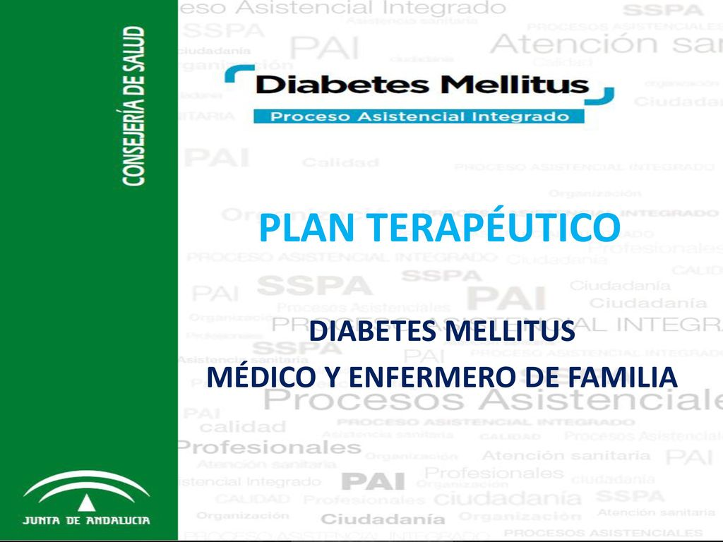 proceso asistencial integrado diabetes andalucia