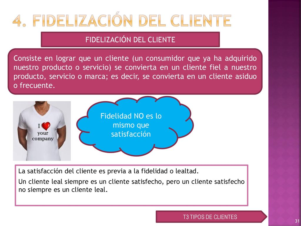 Fidelizacion De Clientes Ppt