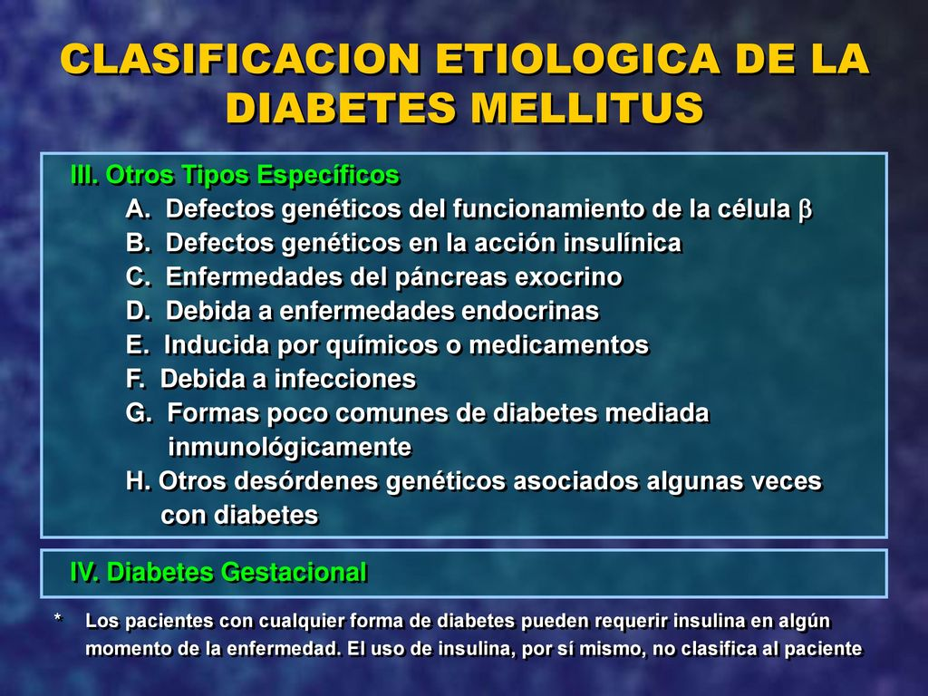 terapia combinada diabetes ppt presentaciones hispanas