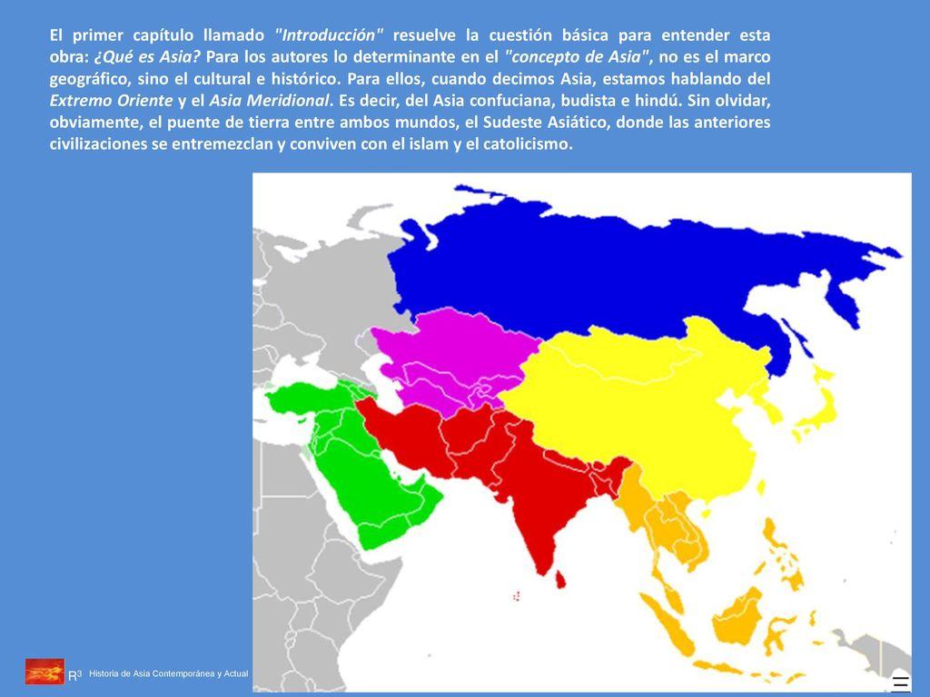 Historia de Asia Contemporánea y Actual, firmado por profesores del ...