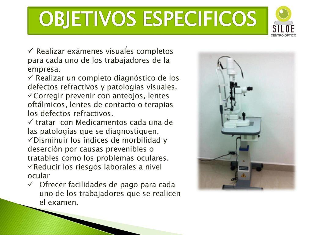 4362dbfc2eba4 DE SALUD VISUAL CENTRO OPTICO SILOE - ppt descargar