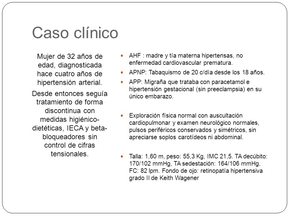 Hipertensión renovascular diagnostico clinico