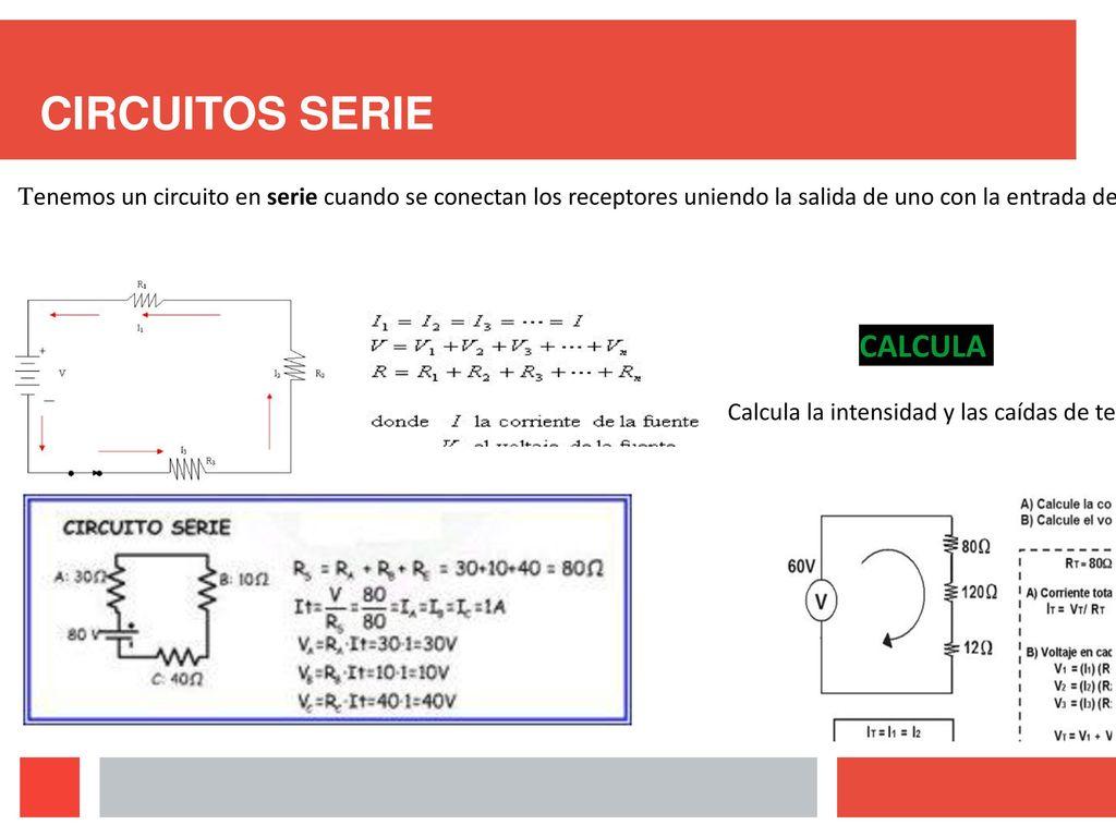Circuito En Serie : Electricidad que es magnitudes bÁsicas circuitos elÉctricos