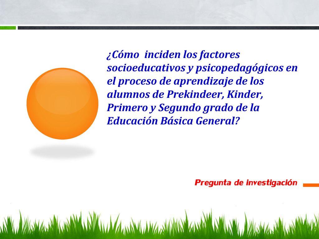 Intervención educativa integral y su incidencia en los aprendizajes ...