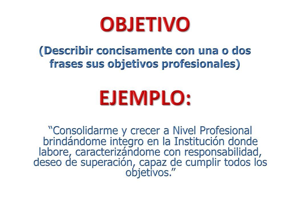 BUSQUEDA DE EMPLEO: PERFIL LABORAL - ppt descargar