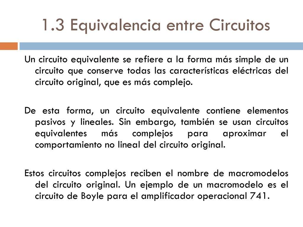 Circuito Que Es : Universidad autónoma del estado de méxico ppt descargar