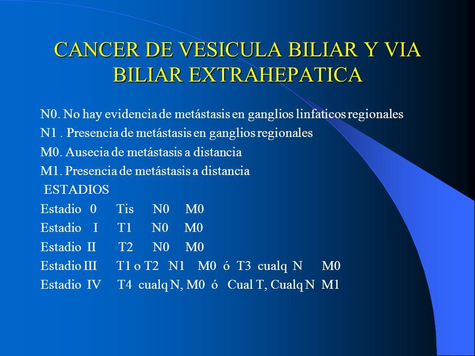 Cancer de pancreas etapa 4, Cancer vesicula biliar estadio 4