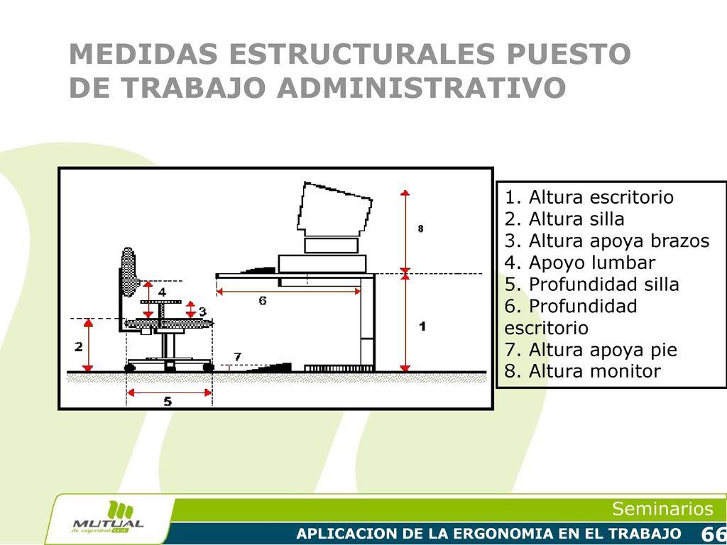 APLICACION DE LA ERGONOMIA EN EL TRABAJO - ppt descargar