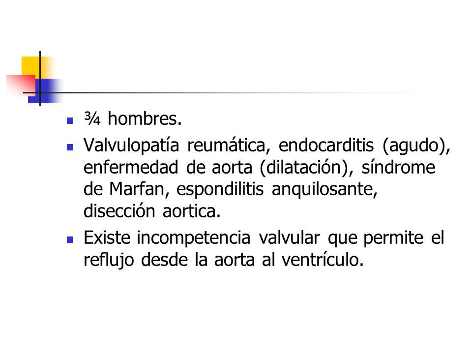 ¾ hombres.