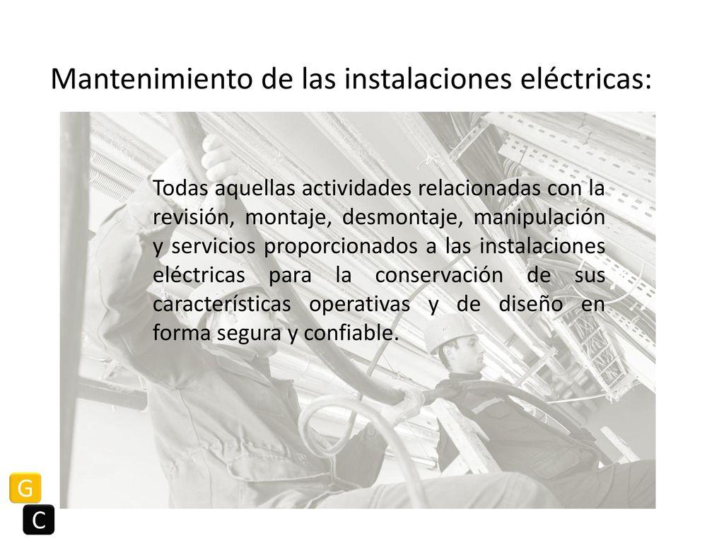 NOM 029 STPS Mantenimiento de las instalaciones eléctricas en los ...