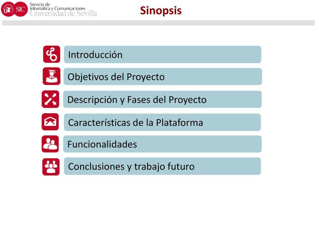 Sinopsis Introducción Objetivos del Proyecto - ppt descargar