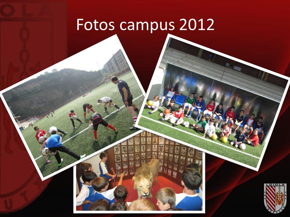 Fotos campus 2012