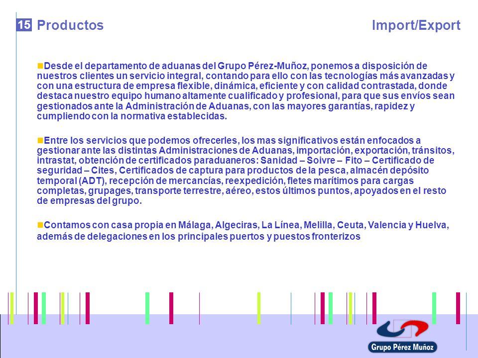 Productos Import/Export 15