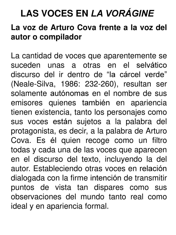 La Vorágine De José Eustasio Rivera Ppt Descargar