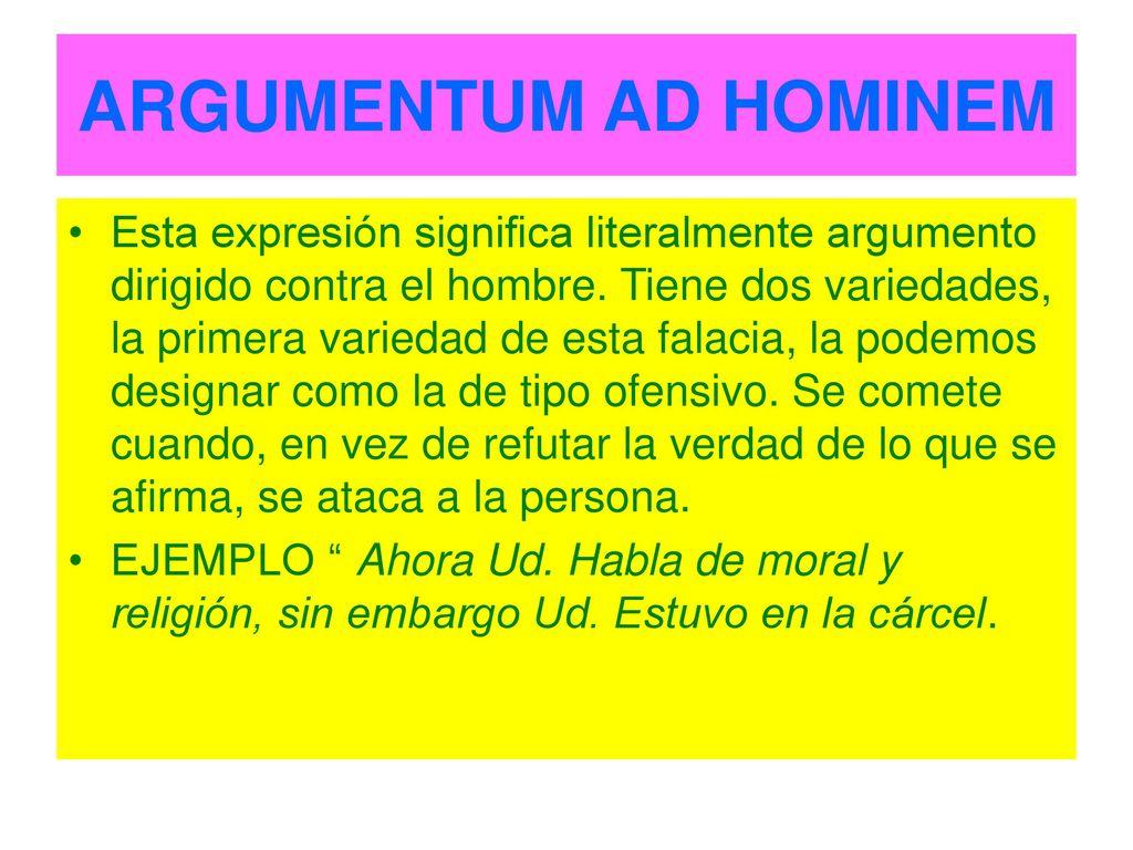 Argumentum ad populum ejemplo