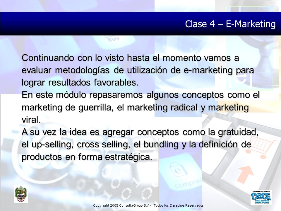 Clase 4 – E-Marketing