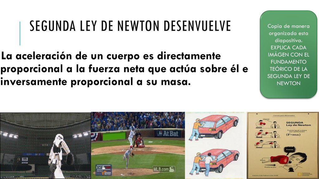 Segunda Ley De Newton Aprendizajes Esperados Ppt Descargar