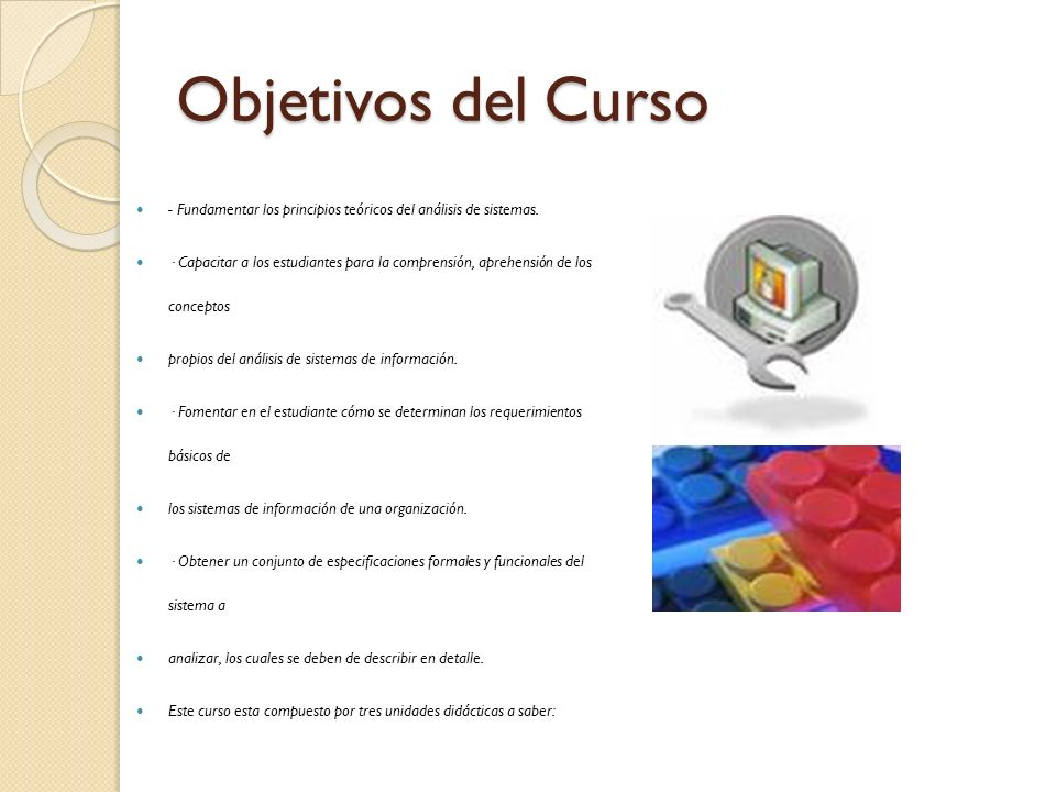 Objetivos del Curso Tip: Add your own speaker notes here.