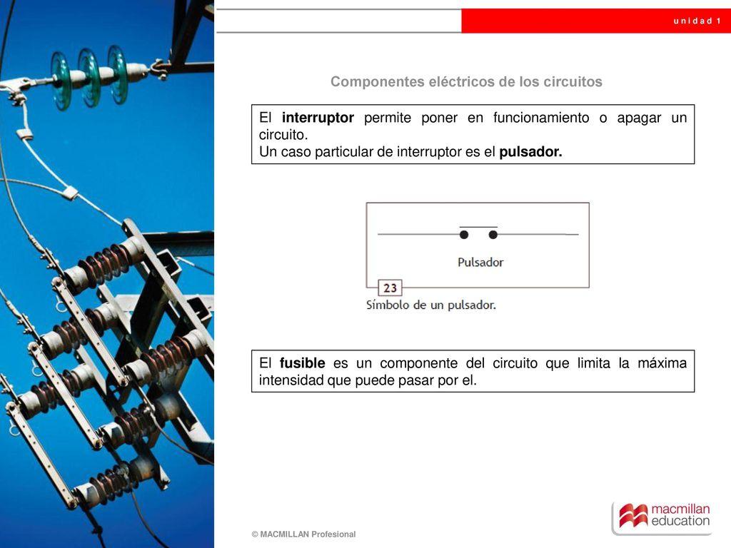 Circuito Que Es : U n i d a d electricidad básica ppt descargar