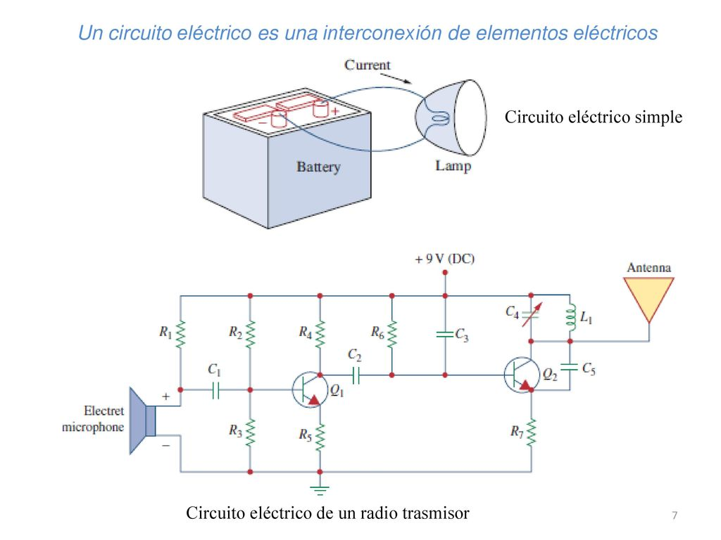 Circuito Electrico Simple : Analisis de circuitos electricos ppt descargar