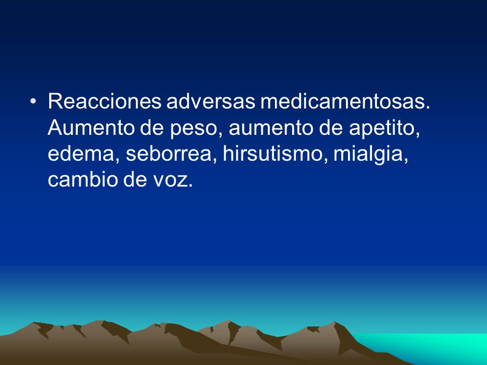 Reacciones adversas medicamentosas