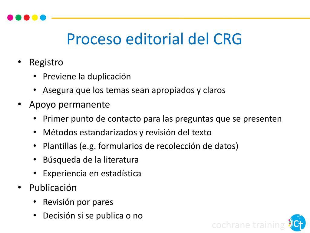 Introducción al desarrollo de una revisión Cochrane - ppt descargar