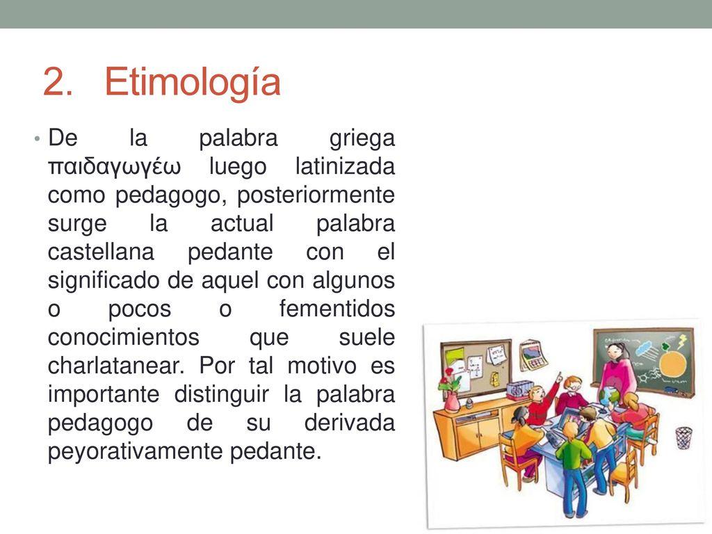Significado de pedagogo