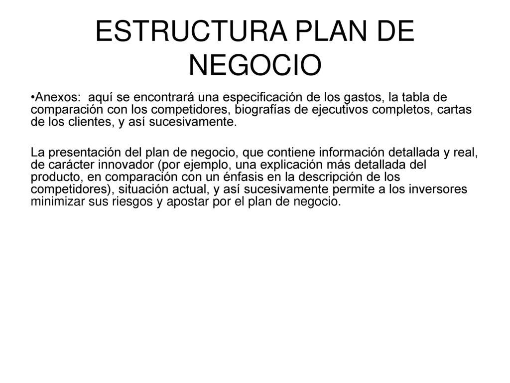 estructura de los planes de la organizacion ppt descargar