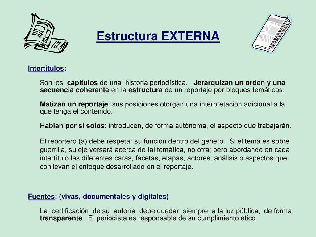 Estructuras Interna Y Externa Ppt Descargar