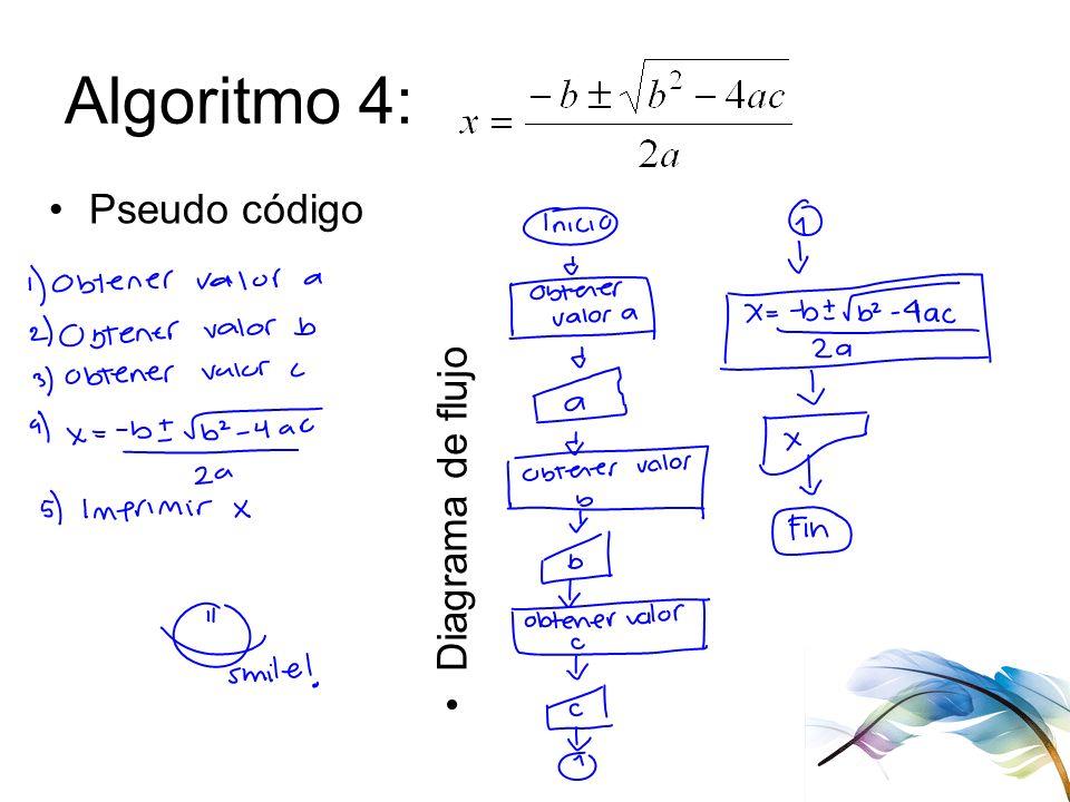 Diagramas de flujo pseudo cdigo ejercicios instalacin de c ppt 10 algoritmo 4 pseudo cdigo diagrama de flujo ccuart Gallery