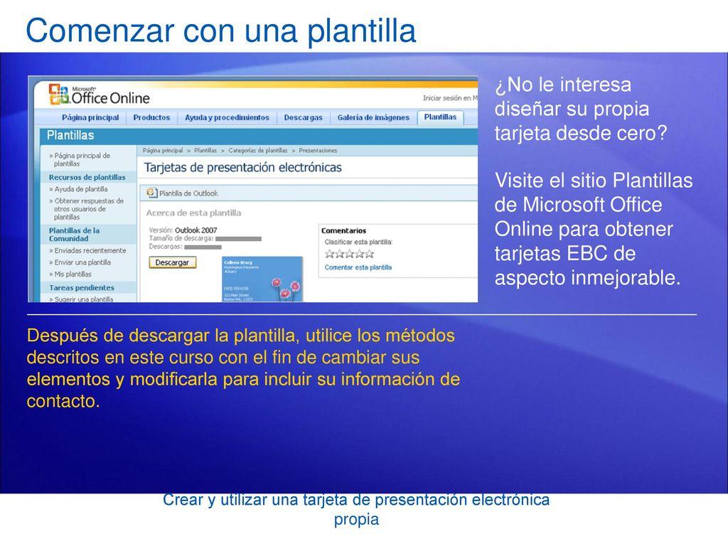 Formación de Microsoft® Office Outlook® ppt descargar