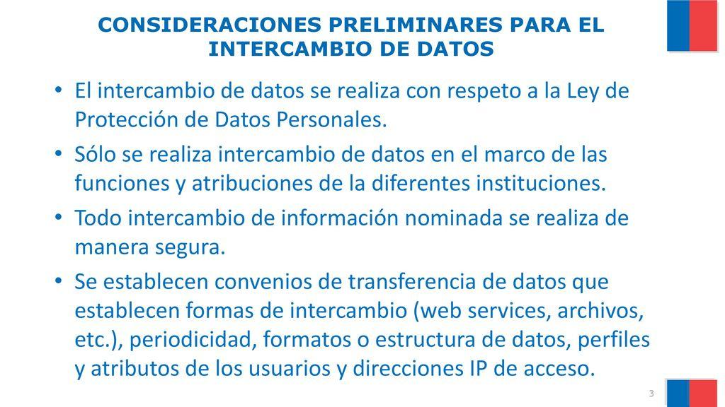 INTERCAMBIO DE INFORMACIÓN EN EL MARCO DEL REGISTRO SOCIAL DE ...