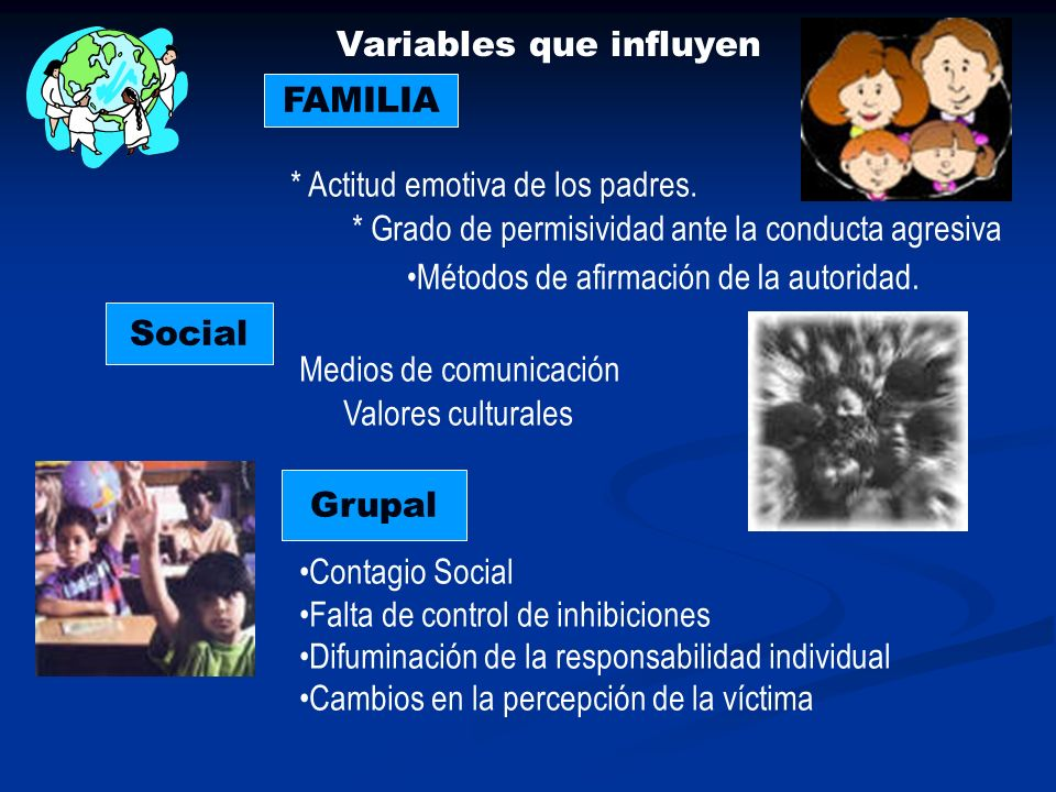 Variables que influyen