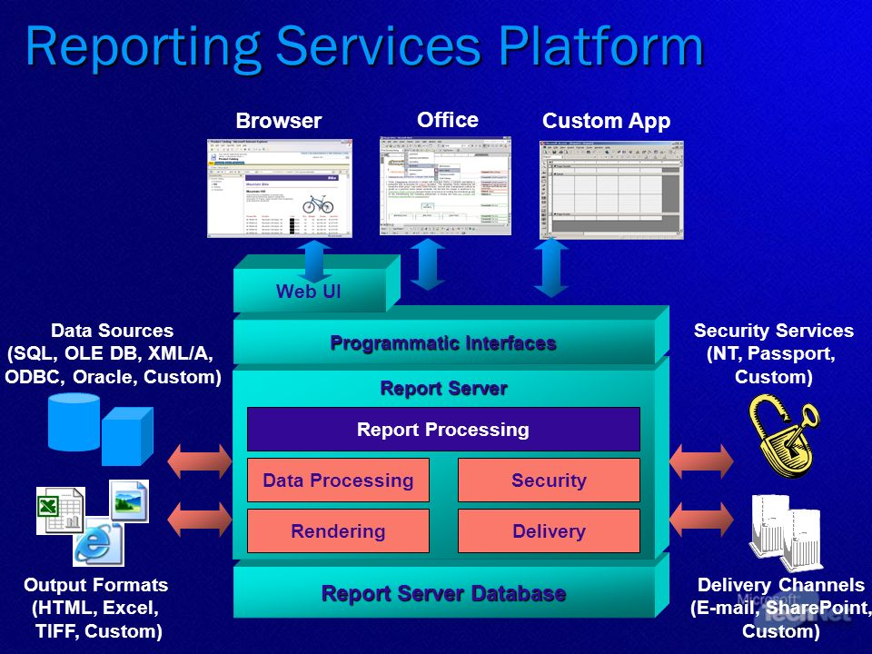 Reporting Services Platform