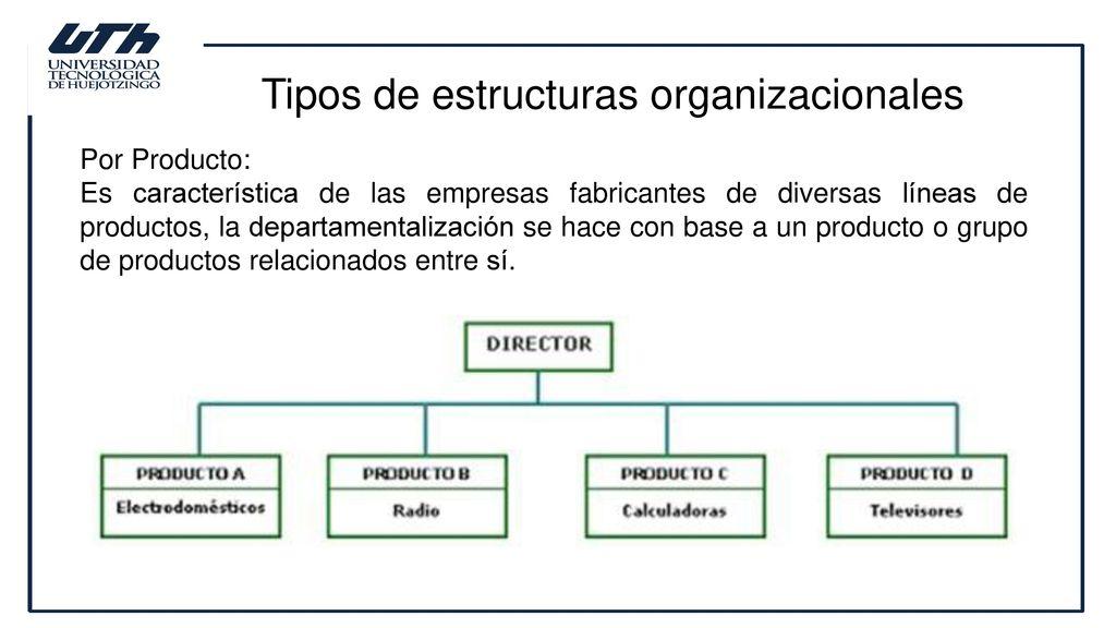 Estructuras Organizacionales Ppt Descargar