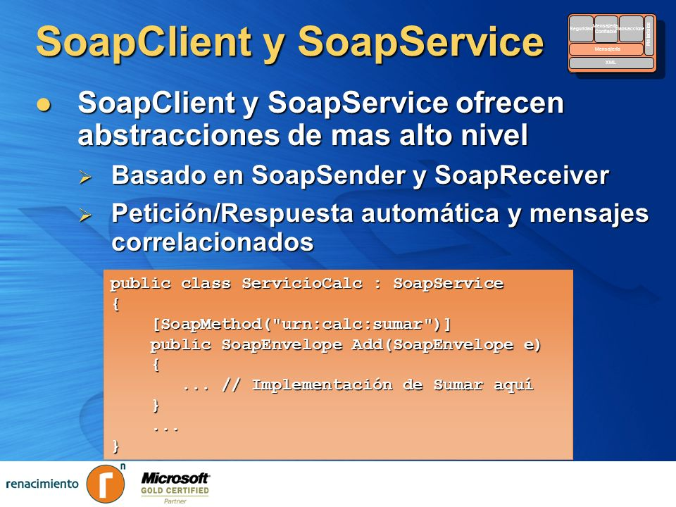 SoapClient y SoapService