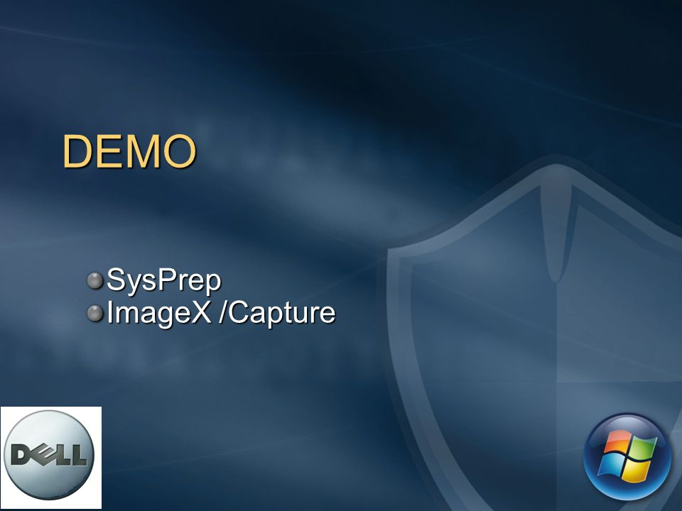 SysPrep ImageX /Capture