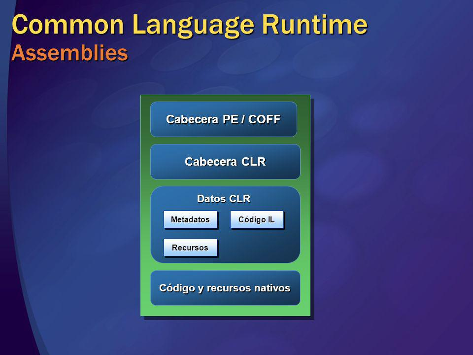 Common Language Runtime Assemblies