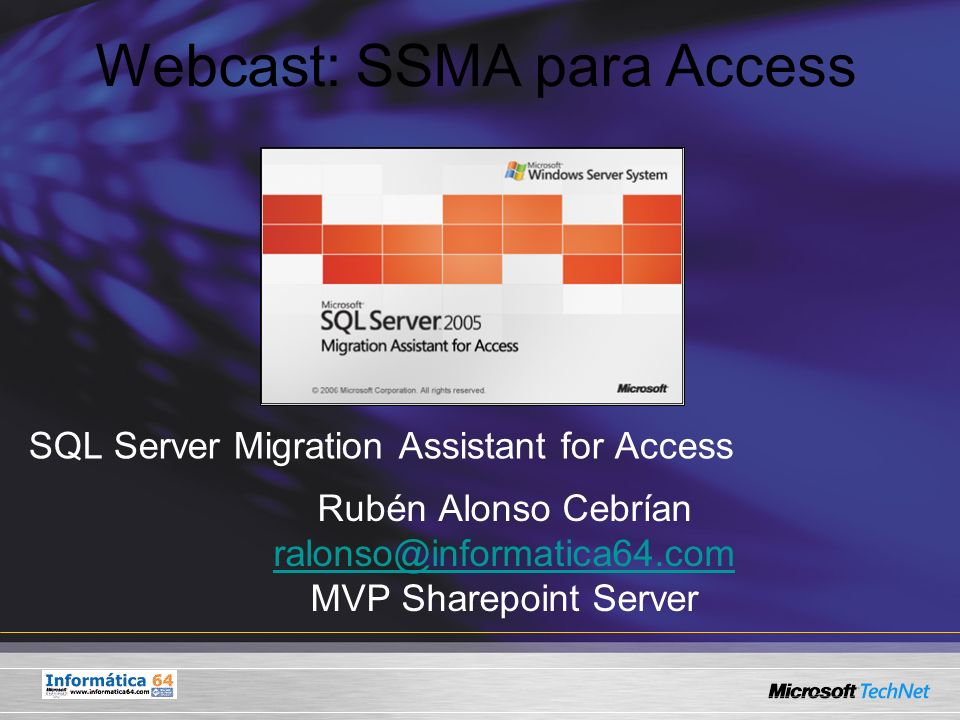 SQL Server Migration Assistant for Access