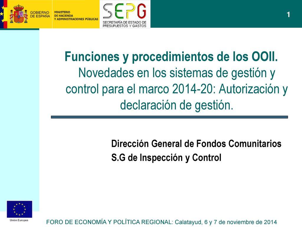 Direccion general fondos comunitarios ministerio economia hacienda