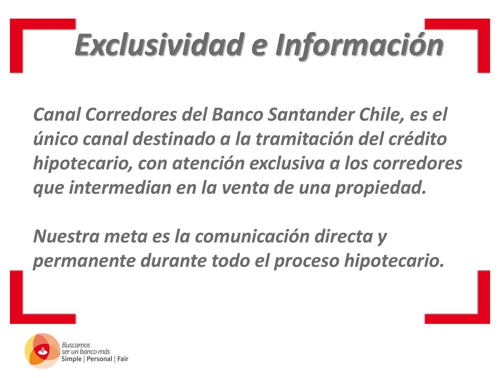Canal Corredores Banco Santander Ppt Descargar