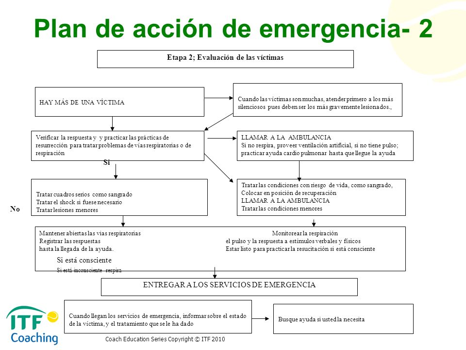 Plan de acción de emergencia- 2