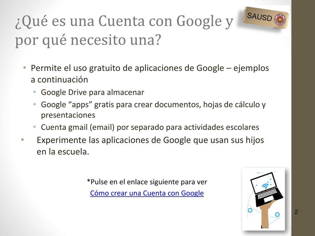 Cómo trabajar con aplicaciones de Google - ppt descargar