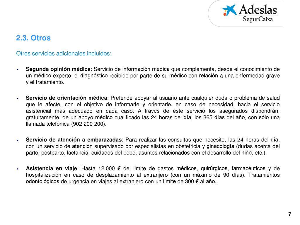 Adeslas Con Fondo Asistencial Construccion Ppt Descargar