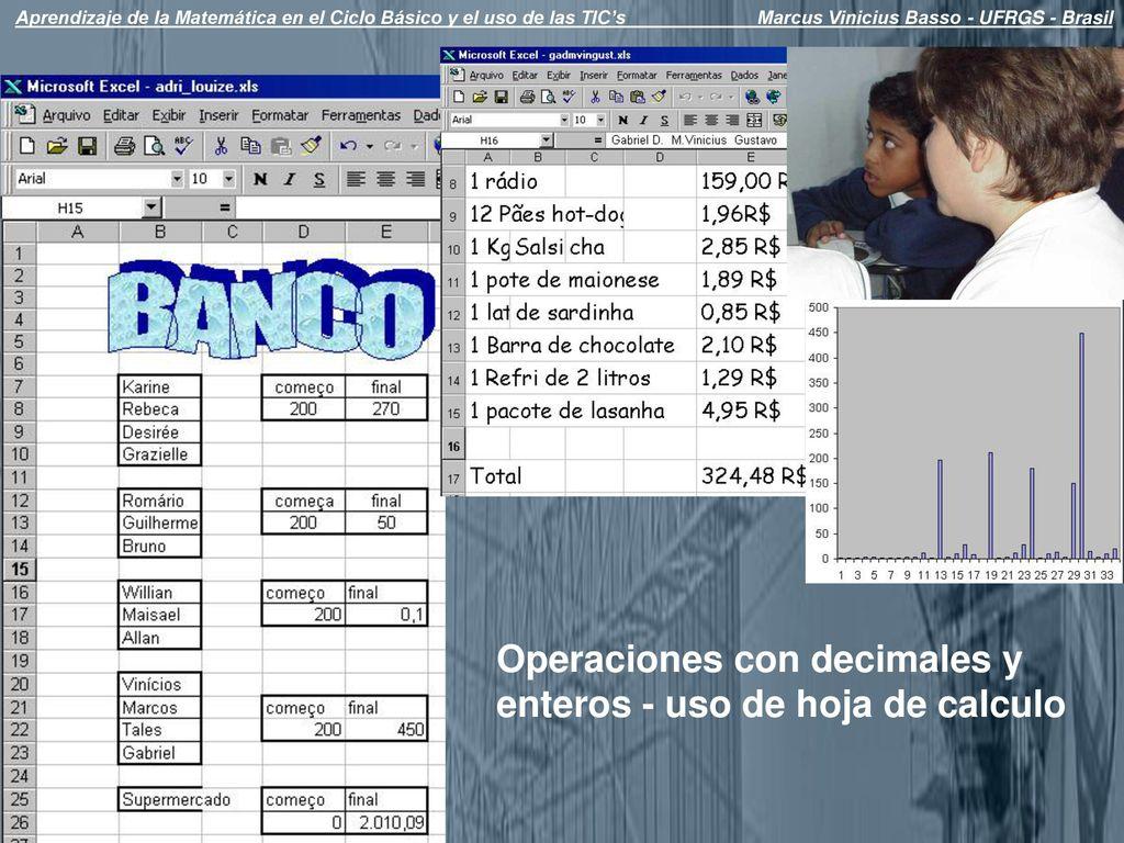 Hermosa Hoja De Cálculo De Operaciones Con Enteros Ideas - hojas de ...