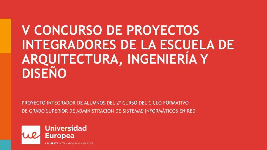 Proyecto Integrador De Alumnos Del 2º Curso Del Ciclo