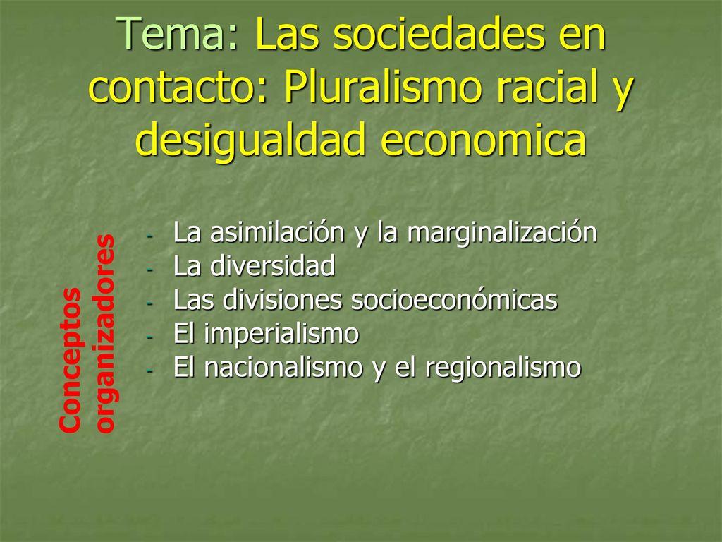 La Asimilacion Y La Marginalizacion La Diversidad Ppt Descargar