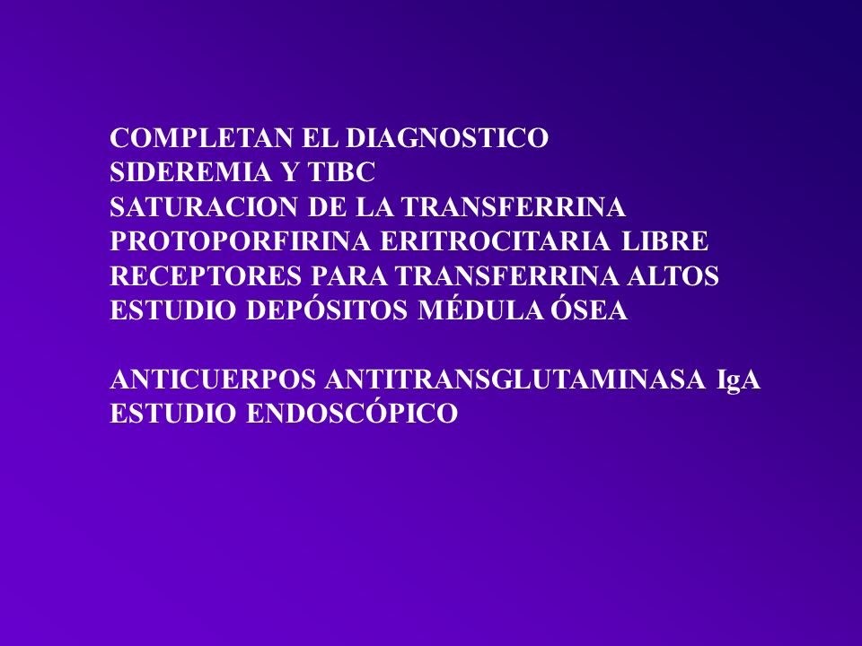COMPLETAN EL DIAGNOSTICO
