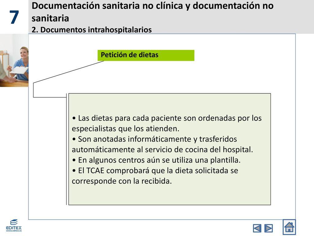 Documentación sanitaria no clínica y documentación no sanitaria ...