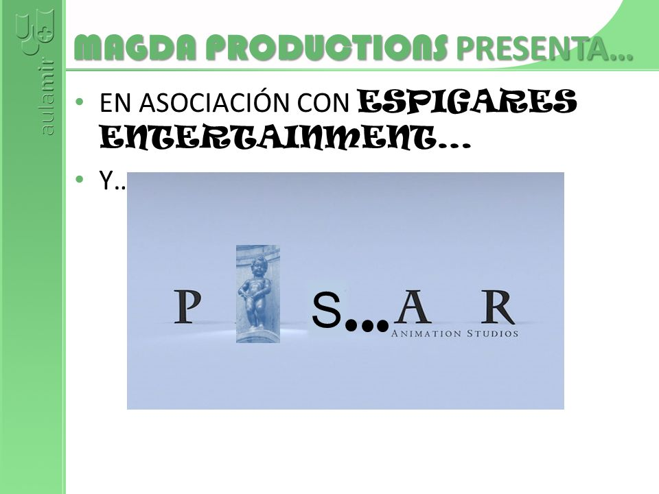MAGDA PRODUCTIONS PRESENTA…